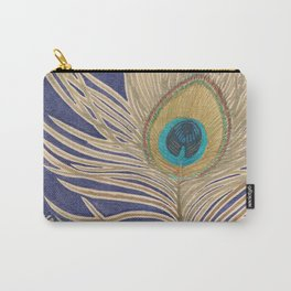 ink peacock feather Carry-All Pouch