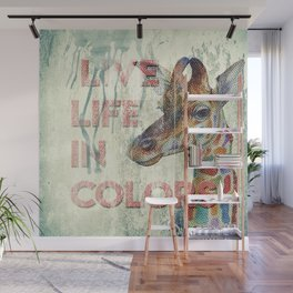 live life in colors Wall Mural