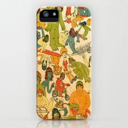 Let's Hit The Beach  iPhone Case
