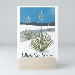 White Sands National Park New Mexico Artwork Mini Art Print