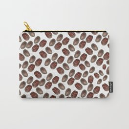 Coffee beans pattern, kitchen Carry-All Pouch