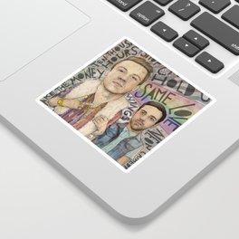 Macklemore & Ryan Lewis - The Heist Sticker