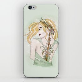 Virgo iPhone Skin