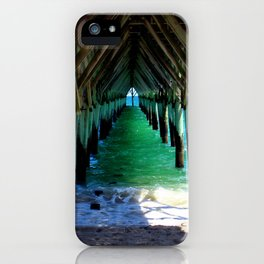 Peaceful Under the Pier iPhone Case