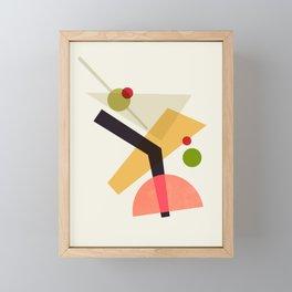 Cocktail IV Martini Framed Mini Art Print