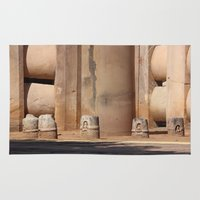 buddhism Area & Throw Rugs featuring Buddhism ancient place in Sanchi by Four Hands Art