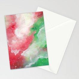 Holly Galaxy Stationery Cards