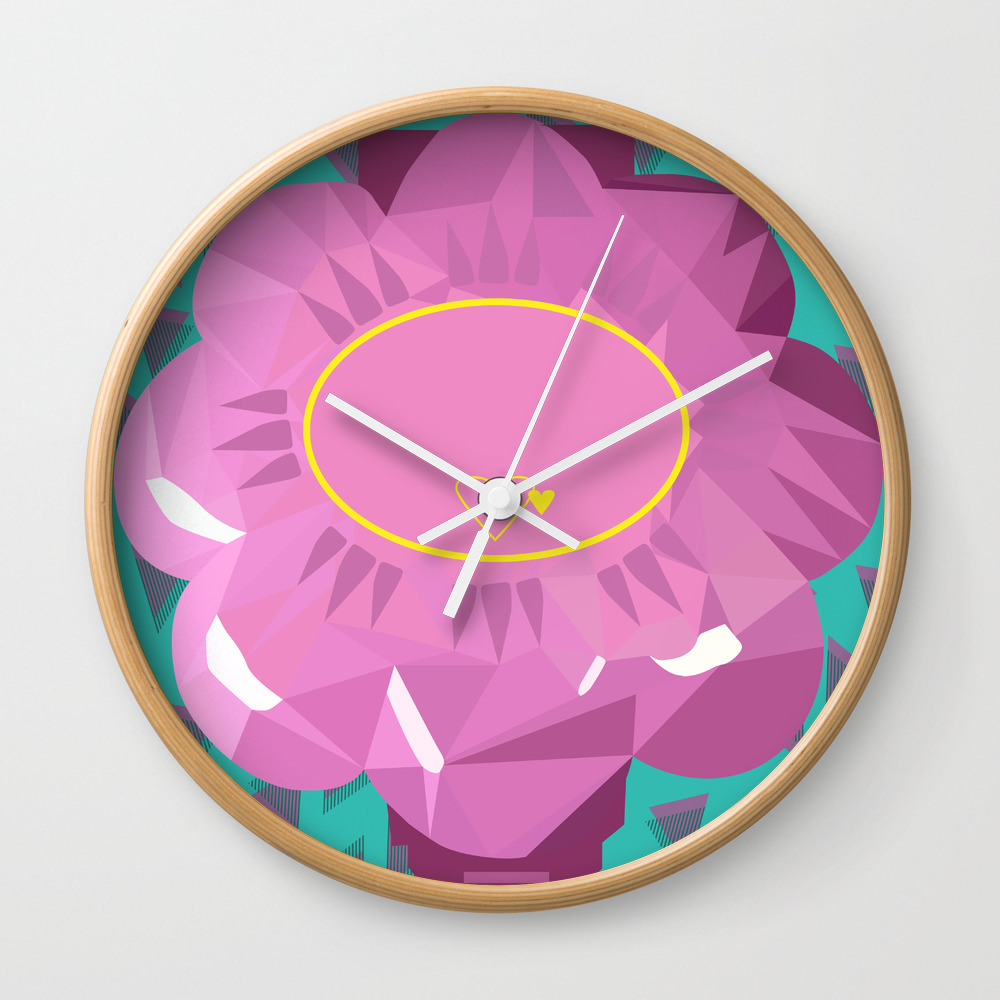 I Heart Polly Pocket Wall Clock by Sparkfromthepast CLK8861292