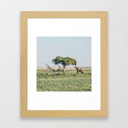 Africa #society6 #decor #buyart Framed Art Print