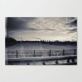 Car Window Canvas Print