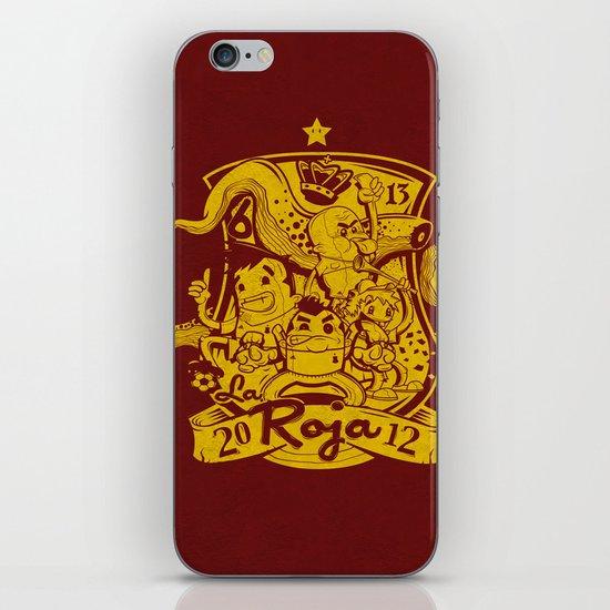 La Roja iPhone & iPod Skin