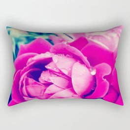 Rose Drops Rectangular Pillow