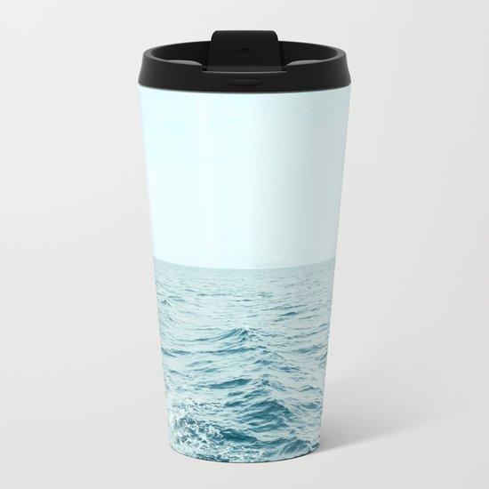 Depth Over Distance Metal Travel Mug