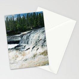 Swim Upstream Stationery Cards
