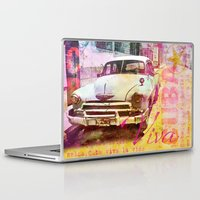 cuba Laptop & iPad Skins featuring Viva Cuba by LebensART