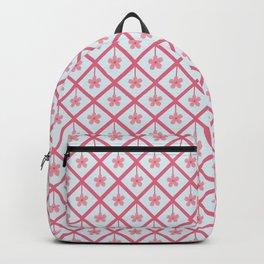 Floral Geometry Backpack