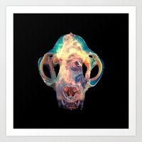 The Bones Galaxy Art Print
