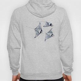 Devil fish Manta ray Mobula mobular Hoody