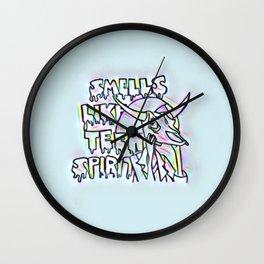 Smells Like Teen Spirit Wall Clock