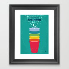 No660 My Pitch Perfect minimal movie poster Framed Art Print