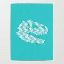 Tyrannosaurus Rex Skull Poster