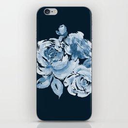 Country Rose on Indigo iPhone Skin