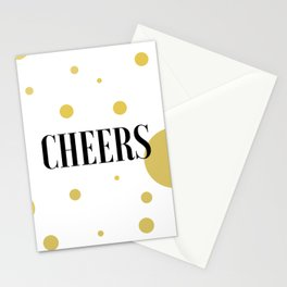 POP FIZZ CLINK Black And Gold Party Decorations Champagne Gift Champagne Quotes Cheers Sign Printabl Stationery Cards