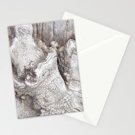 Fabulous Old Gnarled Tree Knot, Old Grey Tree, Woderful Texured Tree Stationery Cards