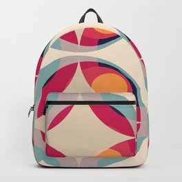 Retro Colored Circles 04 Backpack