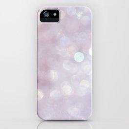 Bokeh Series - English Lavender iPhone Case