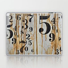 Numeric Values: Crude Figures Laptop & iPad Skin