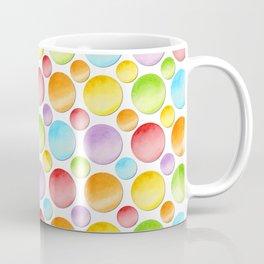 Rainbow Polka Dots Coffee Mug
