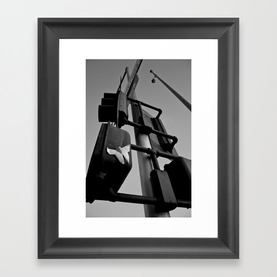 Totem Pole Framed Art Print