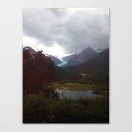 Spencer Glacier Canvas Print