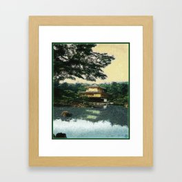 Golden Temple Framed Art Print