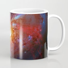Spiral Galaxy in the Hunting Dogs constellation Coffee Mug