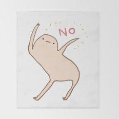 Honest Blob Says No Throw Blanket