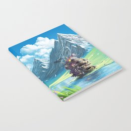 Howls Moving Castle Notebook