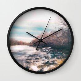 Winter Thaw Wall Clock
