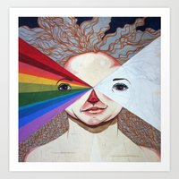 prism Art Prints featuring Prism by Casey Landerkin