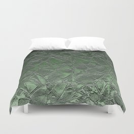 Grunge Relief Floral Abstract G167 Duvet Cover