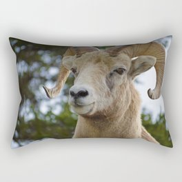 Big Horn Sheep in Jasper National Park Rectangular Pillow