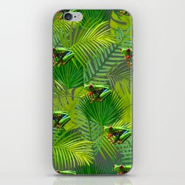 Frog Forest iPhone Skin