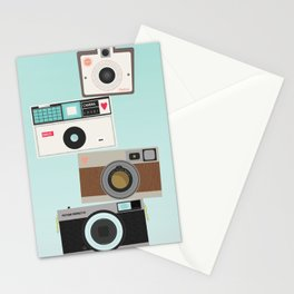 Retro Camera Print  Stationery Cards