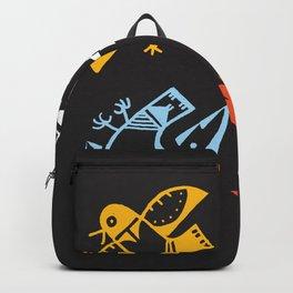 Hopi Four Directions - Tsiro (Bird) Backpack