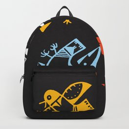 Hopi Four Directions - Tsiro (Bird) Backpack
