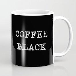 Coffee Black Coffee Mug