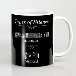 Types of silence (dark colors) Coffee Mug