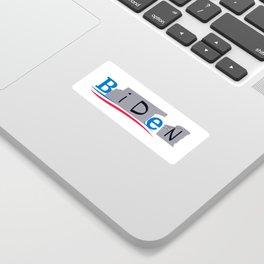 Bernie/Biden Sticker Sticker
