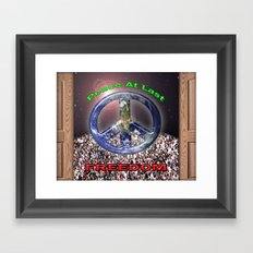 Peace At Last Poster Framed Art Print